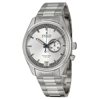 Zenith Men's 'El Primero Retrotimer' Stainless Steel Chronograph Watch