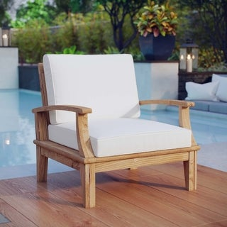 Pier Outdoor Patio Teak Armchair