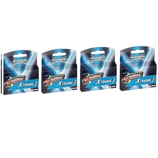 Wilkinson Sword Xtreme 3 Flexible Razor Blades (Pack of 4)