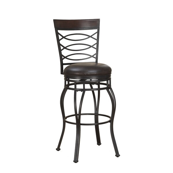 shop greyson living ellison extra tall bar stool free shipping today overstock 9397121. Black Bedroom Furniture Sets. Home Design Ideas