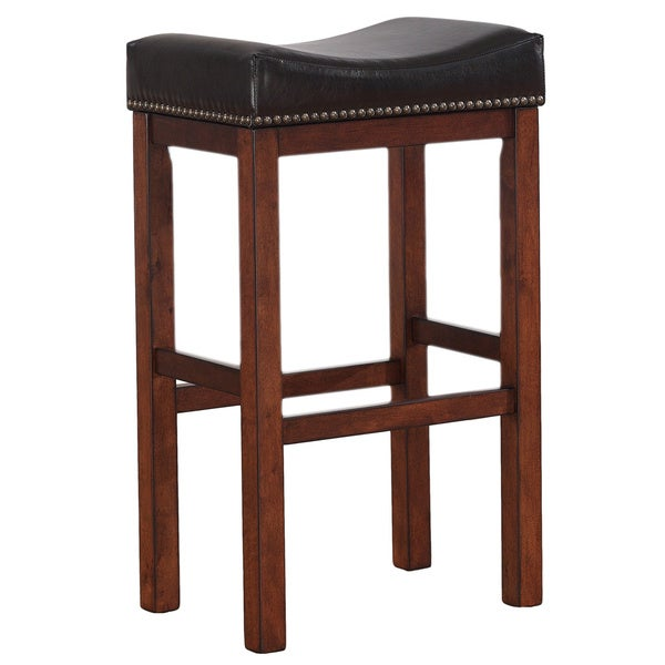 Jameson 30 Inch Saddle Seat Bar Stool By Greyson Living