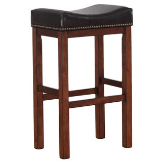 Jameson 30-inch Saddle Seat Bar Stool by Greyson Living