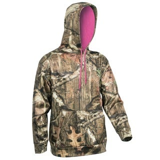 Yukon Gear Women's Mossy Oak Break Up Infinity/ Pink Performance Hoodie