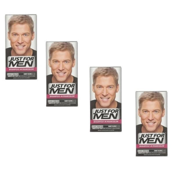 f4e44d31c Just for Men Shampoo-In Sandy Blond H-10 Haircolor (Pack of 4)