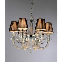 Ranneth 6-light Chrome Chandelier
