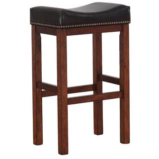 Greyson Living Jameson Saddle Seat Counter Stool