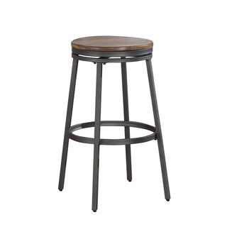 Link to Greyson Living Stava Backless Bar Stool Similar Items in Dining Room & Bar Furniture