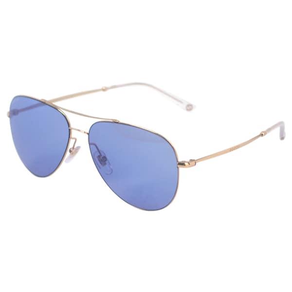 4238e67caf8 Shop Gucci Unisex GG 2245 S DDB35 Aviator Sunglasses - Free Shipping ...