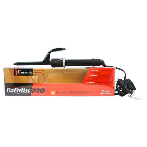 BaBylissPRO Professional Ceramic 0.5-inch Curling Iron