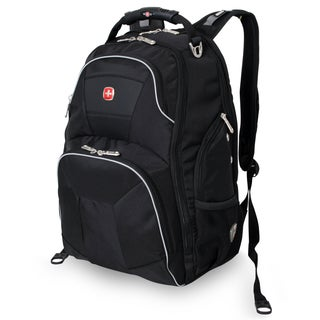 SwissGear ScanSmart Black 15-inch Laptop Backpack
