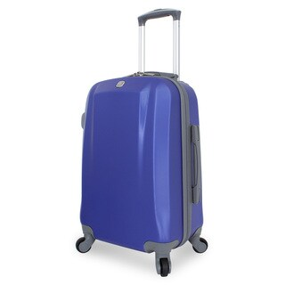 SwissGear Blue 19-inch Hardside Spinner Carry-on Suitcase