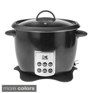 Kalorik Multifunction Digital Rice Cooker with Retractable Power Cord