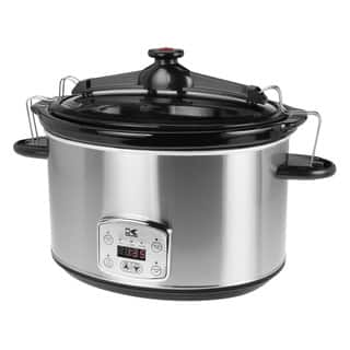 Kalorik Stainless Steel 8-quart Digital Slow Cooker with Locking Lid|https://ak1.ostkcdn.com/images/products/9397456/P16586238.jpg?impolicy=medium