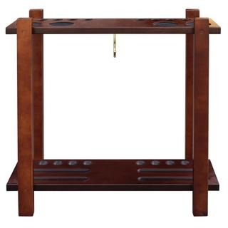 Classic Floor Billiard Pool Cue Rack