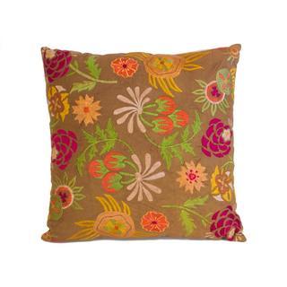 Harvest Floral Throw Pillow