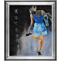 Pol Ledent 'Ah those shoes' Framed Fine Art Print