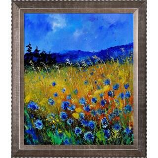 Pol Ledent Cornflowers 45 Framed Fine Art Print