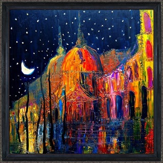 Justyna Kopania Night Framed Fine Art Print