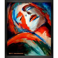 Helena Wierzbicki 'Deepest Fullness' Framed Fine Art Print