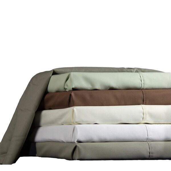 Brielle 600 Thread Count Cotton Blend Rich Sateen Sheet Set