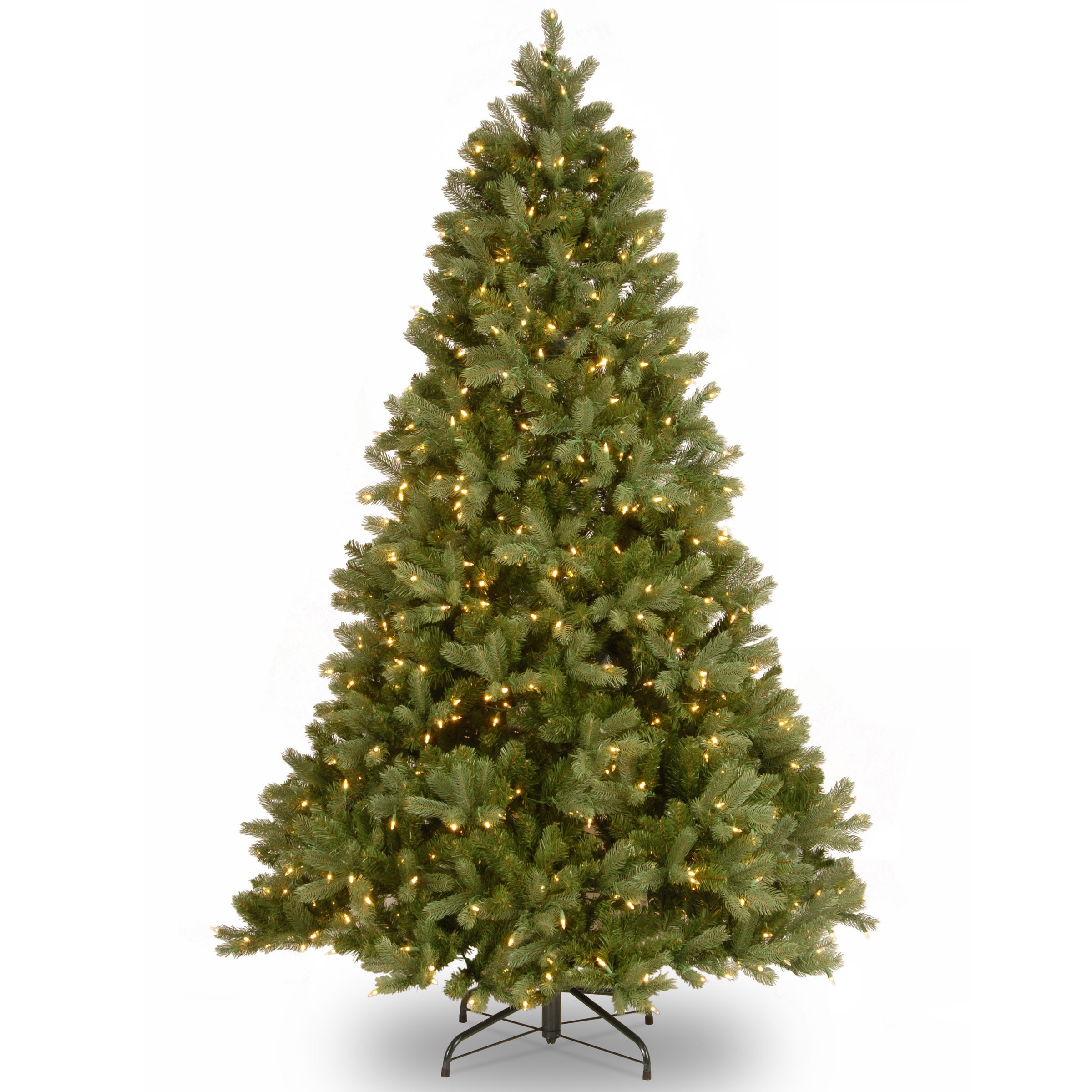National Tree Feel Real Downswept Douglas Fir (10' LED Mu...