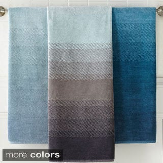 Amraupur Overseas Yarn-dyed Ombre Jacquard 6-piece Towel Set