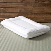 Comfort Memories 2-in-1 Reversible Memory Foam and Fiber Pillow