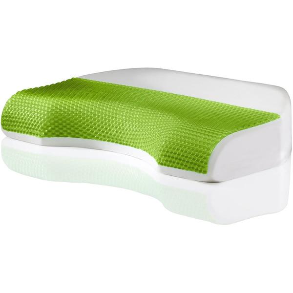 Comfort Memories Body Cove Hydraluxe Gel and Memory Foam Pillow