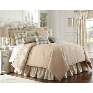 Shop Rose Tree Monet 6 Piece Cotton Comforter Set Free