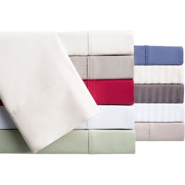 Brielle Egyptian Cotton 400 Thread Count Sateen Deep Pocket Sheet