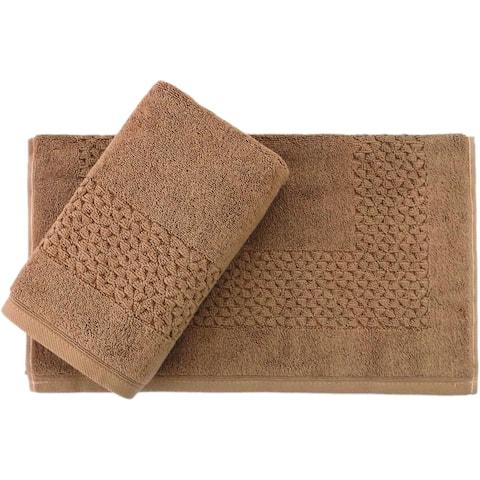 Classic Turkish Towel Hardwick 900 GSM 20 x 30 Bath Mat (Set of 2)