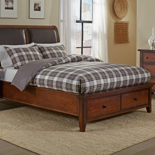 Eddie Bauer Edgewood Plaid Khaki 3-piece Cotton Duvet Cover Set