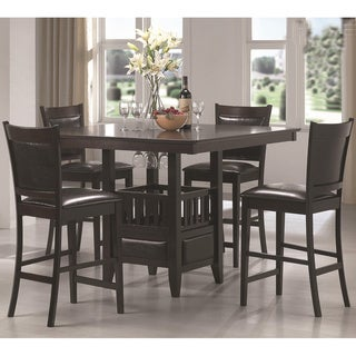 Grand Jacobsen Cappuccino Finish 5-piece Dining Set