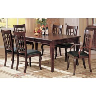 Rasti 7-piece Cherry Dining Set