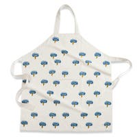 Couleur Nature Blue and Green Printed Apron