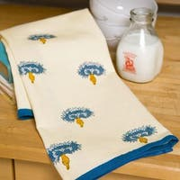 Couleur Nature Blue and Green Tea Towels (Set of 3)