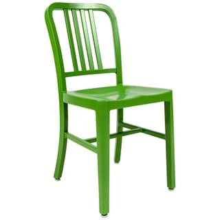 LeisureMod Alton Modern Green Dining Chair