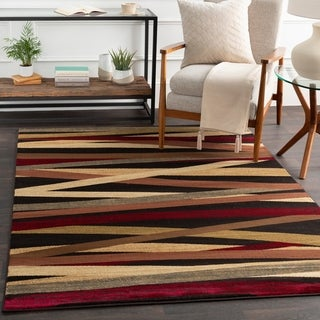 Meticulously Woven Gwinnett Abstract Polypropylene Runner Rug (2' x 7'5)
