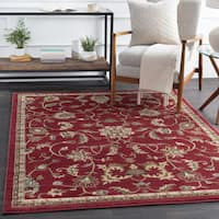 Lanier Traditional Floral Runner Rug (2' x 7'5)