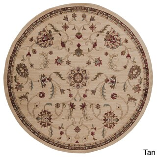Lanier Floral Area Rug (8' Round) (2 options available)