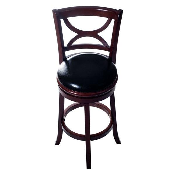 Lavish Home Classic Wooden Swivel Bar Stool with Back  : Lavish Home Classic Wooden Swivel Bar Stool with Back 5f98a7c5 1c9f 4c34 bcb4 790ba461ce32600 from www.overstock.com size 600 x 600 jpeg 20kB