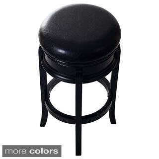 Lavish Home Classic Wooden Swivel Bar Stool|https://ak1.ostkcdn.com/images/products/9398101/P16586763.jpg?impolicy=medium