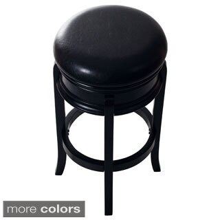 Windsor Home Classic Wooden Swivel Bar Stool