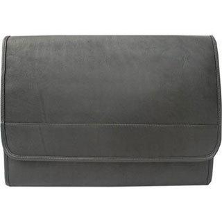 Piel Leather Envelope Portfolio 2363 Black Leather