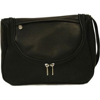 Piel Leather Hanging Utility Kit 2881 Black Leather