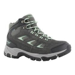 Women's Hi-Tec Logan Mid Waterproof Boot Charcoal/Cool Grey/Lichen