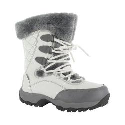 Women's Hi-Tec ST Moritz Lite 200 I Waterproof Boot White/Grey