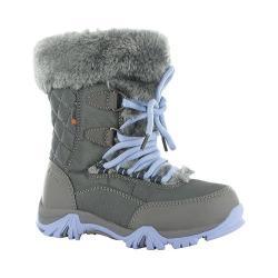 Children's Hi-Tec ST Moritz Lite 200 Waterproof Boot Charcoal/Steel Grey/Lustre