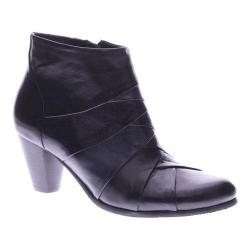 Spring Step Women's Binzo Ankle Booties Black Leather