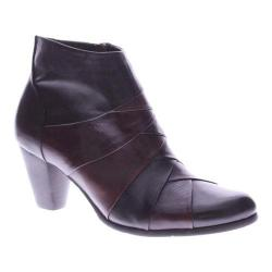Women's Spring Step Binzo Ankle Boot Brown Leather